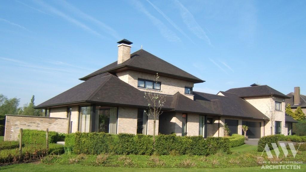 A modern house moderne woning A-B Evergem (2)