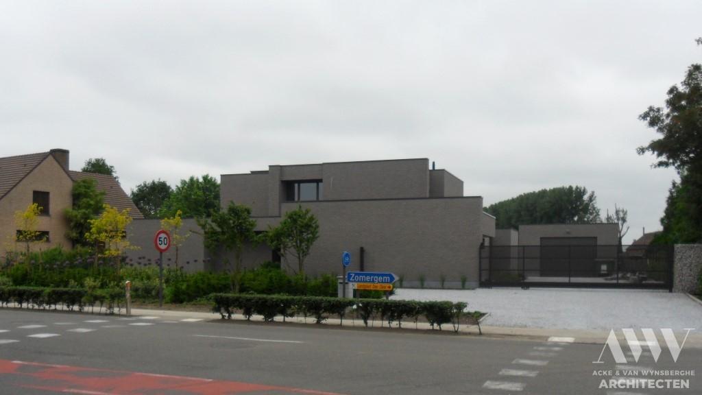 A modern house moderene woning H-A Zomergem (3)