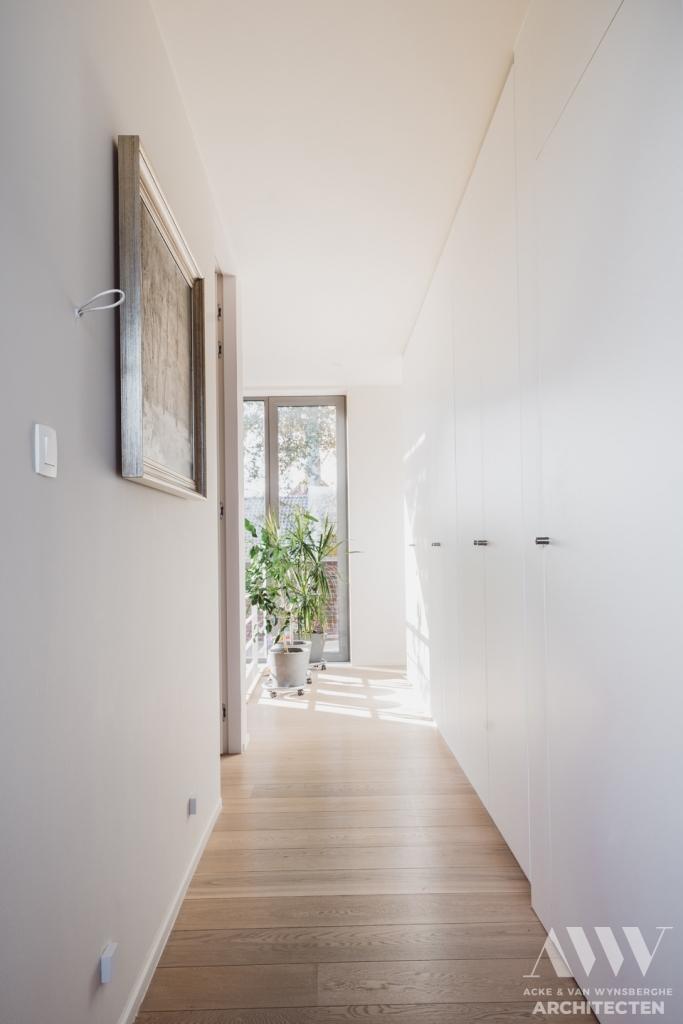 modern house moderne woning B-A Assenede
