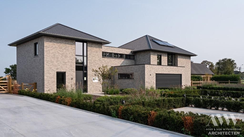A modern house moderne woning S-B Sleidinge (5)