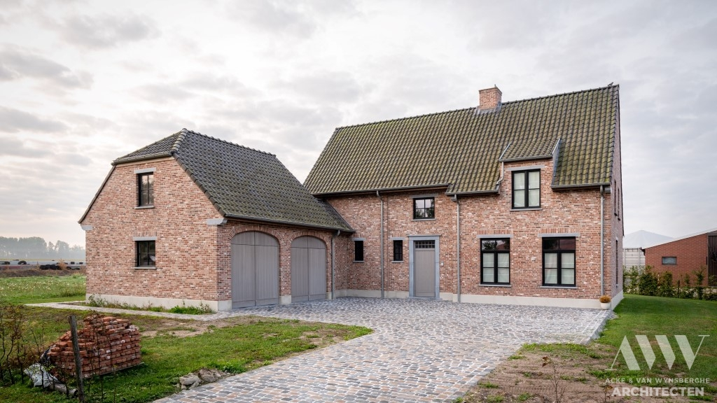 A rural house landelijke woning A-B Sint-Laureins (3)