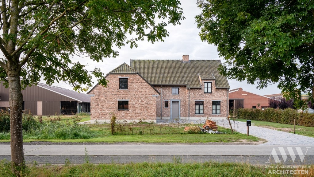A rural house landelijke woning A-B Sint-Laureins (1)