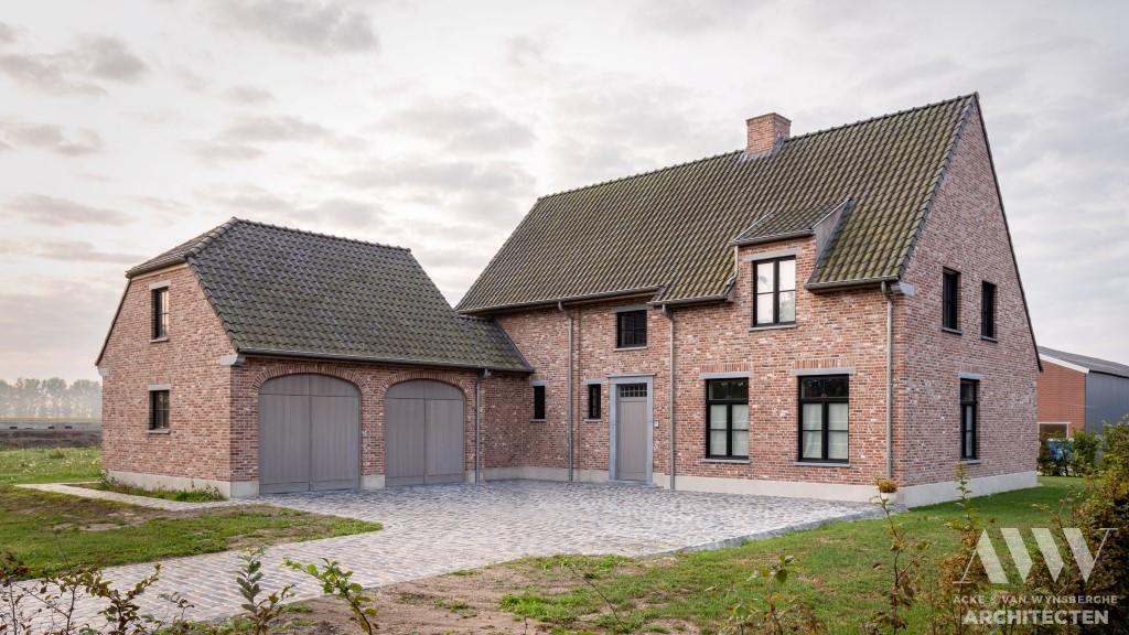 A rural house landelijke woning A-B Sint-Laureins (2)