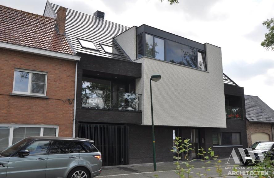 Multi family housing appartementsgebouw D&C Kaprijke (2)