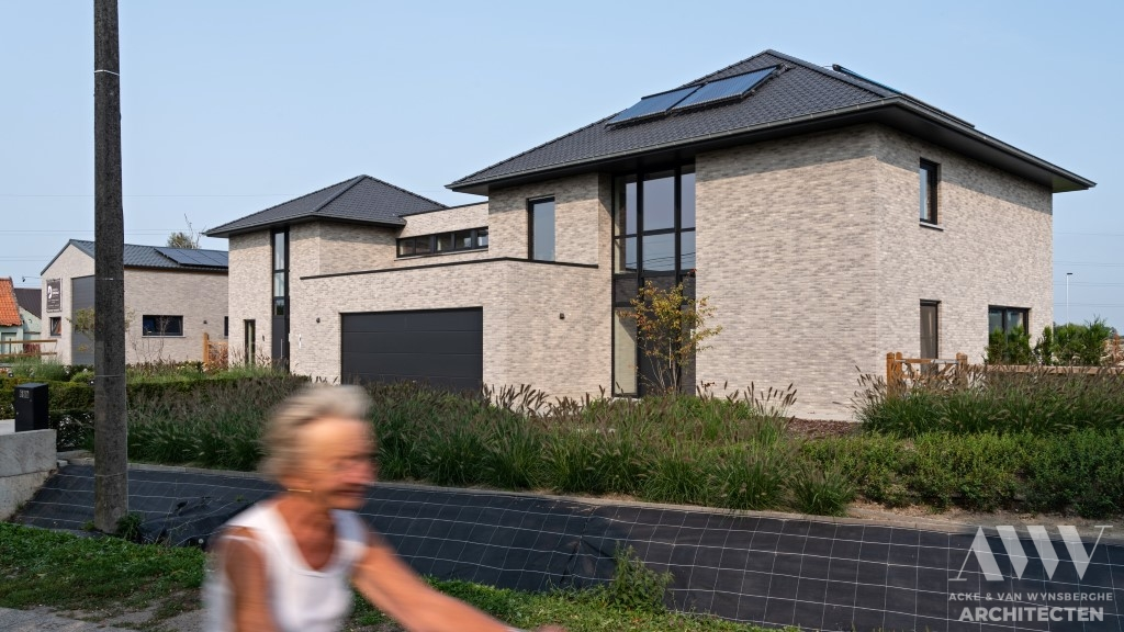 A modern house moderne woning S-B Sleidinge (4)