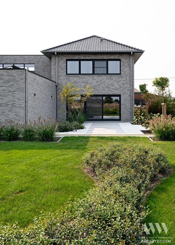 A modern house moderne woning S-B Sleidinge (7)