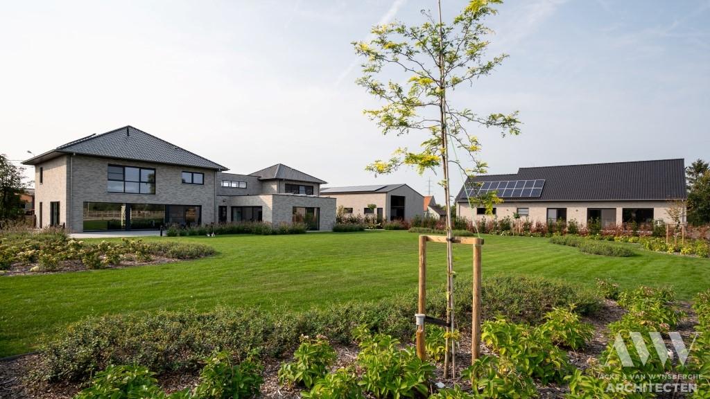 A modern house moderne woning S-B Sleidinge (8)