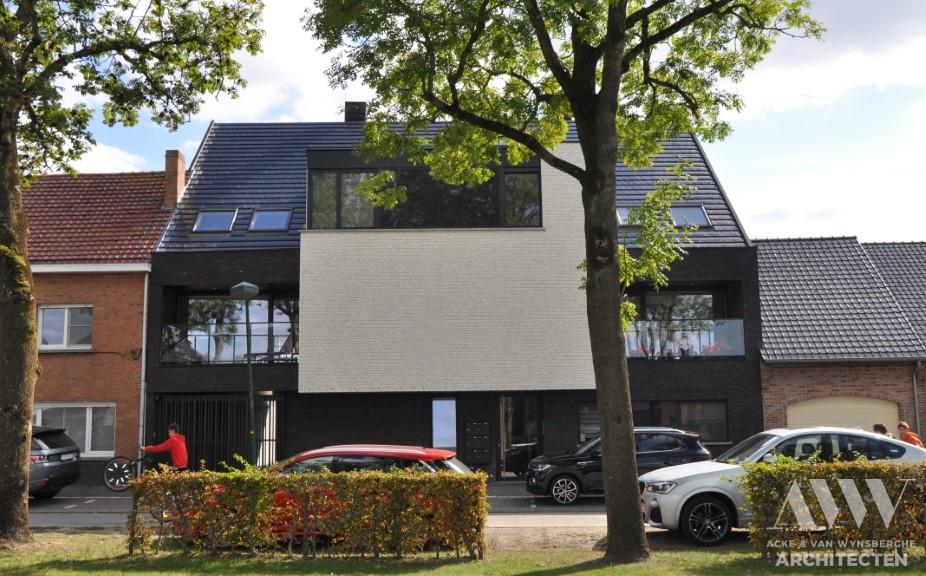 Multi family housing appartementsgebouw D&C Kaprijke (1)