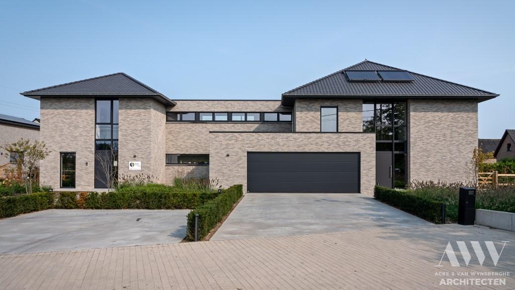 A modern house moderne woning S-B Sleidinge (1)