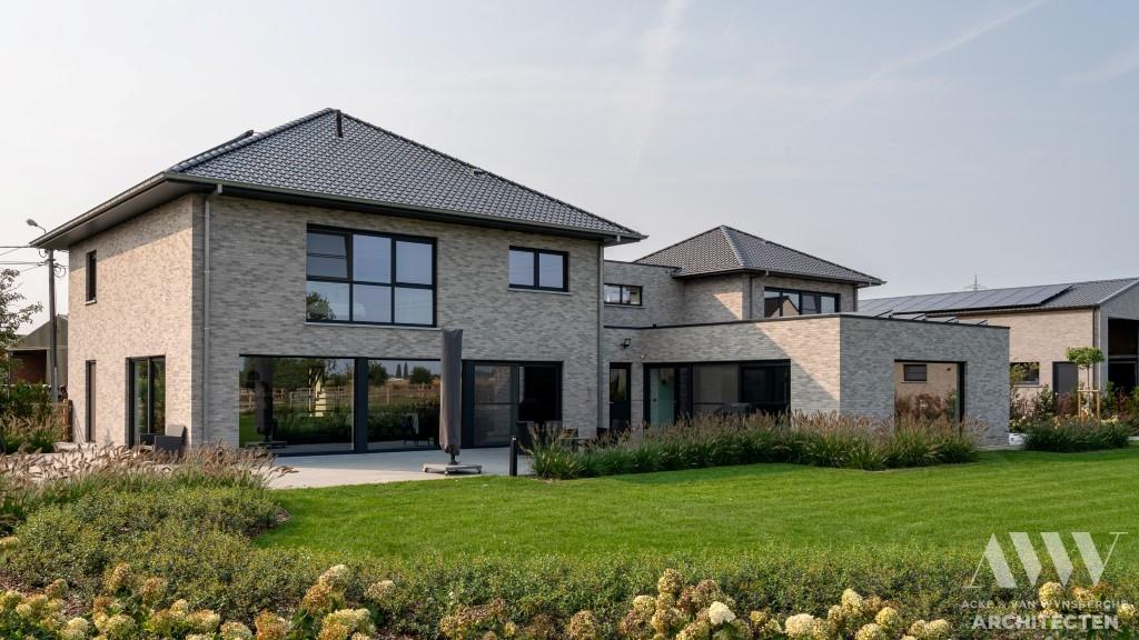 A modern house moderne woning S-B Sleidinge (6)