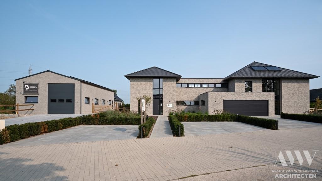 A modern house moderne woning S-B Sleidinge (3)