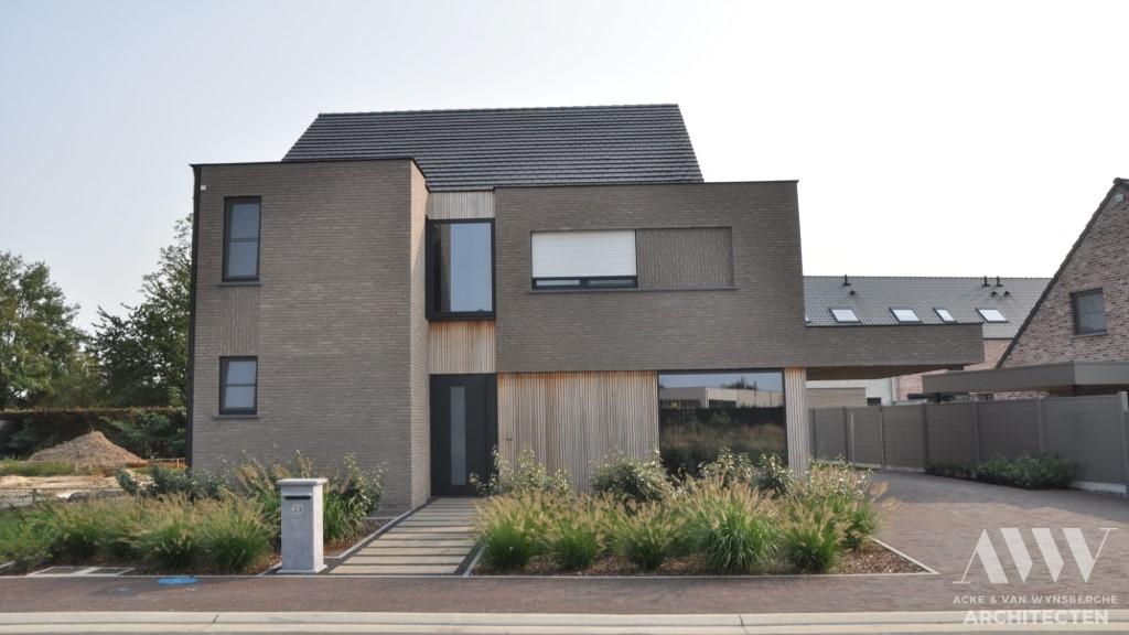 Modern house moderne woning F&I Assenede (1)